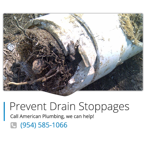 Drain stoppages service in south Florida