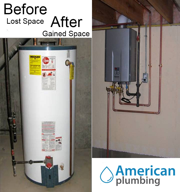 In Line Instant Hot Water : Tankless hot water heater plumber fort lauderdale